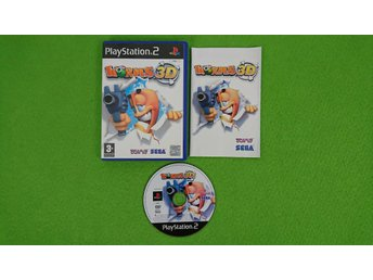 Worms 3D KOMPLETT PS2 Playstation 2