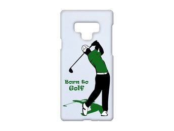 Born To Golf Samsung Galaxy Note 9 Skal