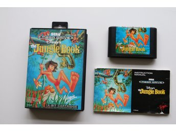 Disney's The Jungle Book - Komplett - CIB - Sega Mega Drive