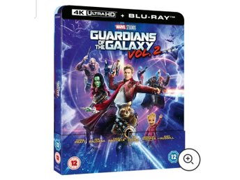 *Ny* Guardians of the galaxy vol. 2   4K & Blu Ray Steelbook *Ny & Inplastad*