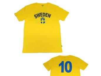 cab95484b46 Gul Sverige T-shirt Sweden med tryck.. (333729403) ᐈ Nytt_O_Nött på ...