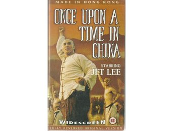 Once upon a time in China - Jet Lee - Ej text - Vhs