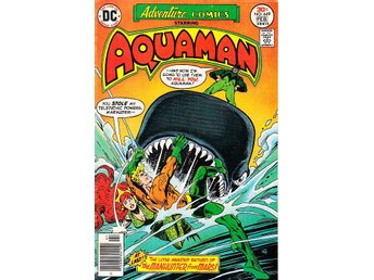 Adventure Comics nr 449 1977 (Aquaman) / VF/NM / toppskick