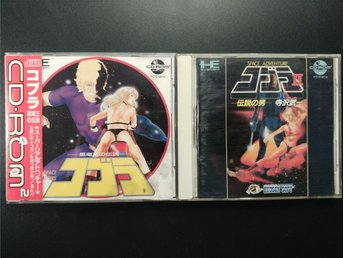 Space Adventure Cobra 1&2 till Pc-Engine Super CD-Rom2 System