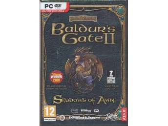 Baldur's Gate II 2: Shadows of Amn PC - Helt Nytt Fraktfritt