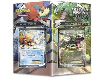 Pokémon Battle Arena Decks, Keldeo EX vs. Rayquaza EX - Vindeln - Pokémon Battle Arena Decks, Keldeo EX vs. Rayquaza EX - Vindeln