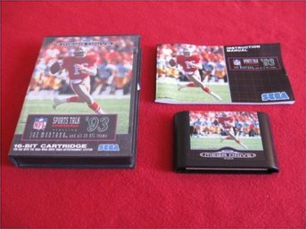 SPORTS TALK FOOTBALL 93 till Sega Megadrive