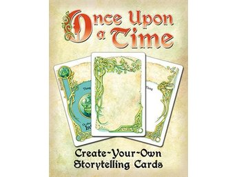 Once Upon a Time: Create-Your-Own Storytelling Cards - Brädspel