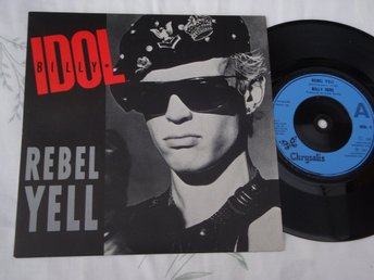 "BILLY IDOL - REBEL YELL 7"" 1985 UK"