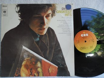 BOB DYLAN - GREATEST HITS - CBS 62847