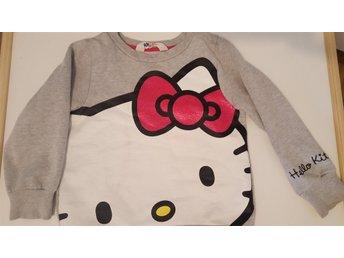 Tjocktröja Hello Kitty, strl 98/104 - Sollentuna - Tjocktröja Hello Kitty, strl 98/104 - Sollentuna