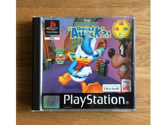 Donald Duck Quack Attack PlayStation PSone PAL
