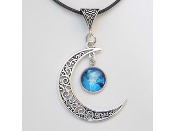 Ängel Måne Halsband / Angel Moon Necklace