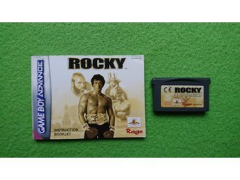 Rocky Kassett + Manual GBA Gameboy Advance Nintendo GBA