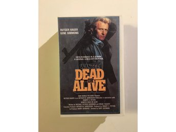 Wanted dead or alive/Blackout/N.M international/VHS