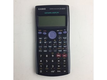 Casio, Miniräknare, Scientific Calculator fx-82ES, Svart