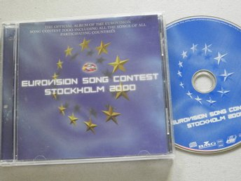 Eurovision Song Contest Stockholm 2000 CD Brainstorm,Nicki French,Alsou,Ines