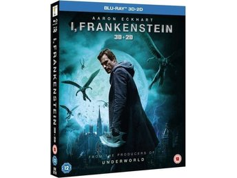 I, Frankenstein Blu-ray 3D and 2D