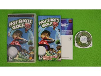 Hot Shots Golf Open Tee Psp Playstation Portable