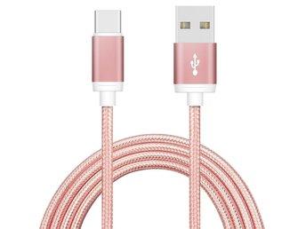 Javascript är inaktiverat. - Nässjö - - Flätad Type-C Data Sync och Laddkabel - Kabel med den vändbara USB Typ C-kontakten och en USB Typ A-kontakt. • 480Mbit/s (60 MB/s) • Längd: 2 meter • USB 2.0 Hi-speed Passar till bl.a: Huawei Mate 9 PRO Honor 8 Huawei P9 HTC 10 Samsu - Nässjö
