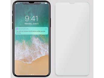 iPhone X Skärmskydd i härdat glas - tempered glass
