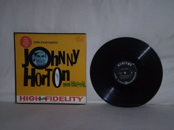 Johnny Horton  -  The Fantastic Johnny Horton    US ORIGINAL  1959  AUTOGRAPH !!