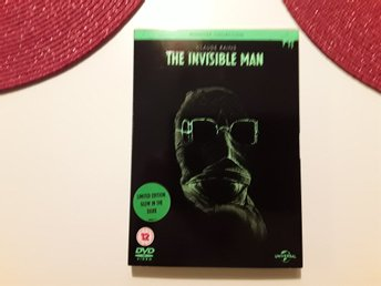 The Invisible man,DVD NY/OÖPPNAD