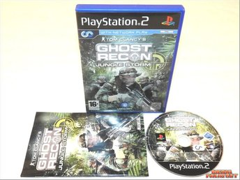 Tom Clancys Ghost Recon: Jungle Storm (PS2)