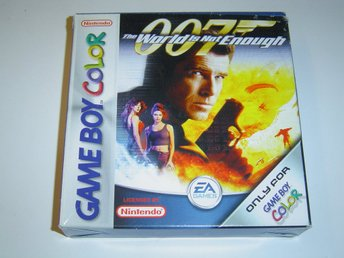 James Bond 007 The World is Not Enough Nintendo Gameboy Advance GBA *NYTT*