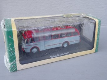 VOVLO 1953  - BUSS - Samlarbil - Editions Atlas - Bus Collection