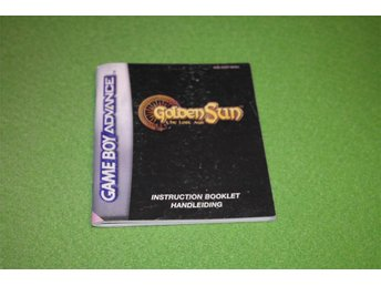 Golden Sun The Lost Age Gameboy Advance Manual GBA