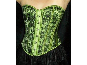 XL - REA - Sista!! Grön häxa korsett punk goth maskerad Halloween - åkersberga - XL - REA - Sista!! Grön häxa korsett punk goth maskerad Halloween - åkersberga