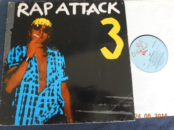 V/A RAP ATTACK, LP Polarvox Oy/Sugar Hill SHLP 1001 Finland 1985