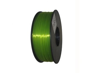 Filament ABS 1,75 Transparent grön