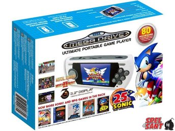 Sega Mega Drive Ultimate Portable Game Player 25th Anniversary (inkl. 80st Spel)