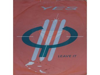 "Yes - Leave It (7"" Single 1983)"