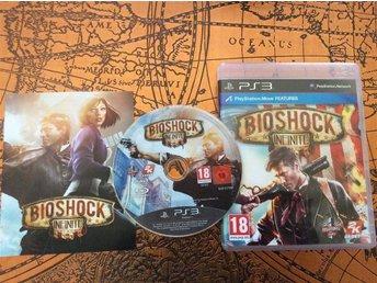 Bio Shock Infinite (komplett) till Playstation 3 , Fri Frakt! - Smålandsstenar - Bio Shock Infinite (komplett) till Playstation 3 , Fri Frakt! - Smålandsstenar