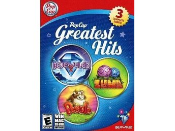Popcap Greatest Hits - Bejeweled 2 - Peggle - Zuma - PC Spel