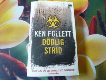 KEN FOLLETT, DÖDLIG STRID, 2006, POCKET, BOK
