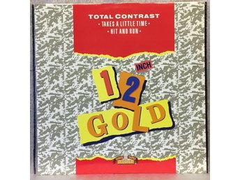 "TOTAL CONTRAST - Takes A Little Time/Hit And Run -- 12"" maxisingel 45 rpm"