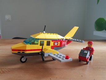 Lego City Post office Air mail 7732