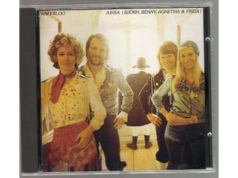 Abba CD Waterloo Polar POLCD-252 Ingen streckkod Pop