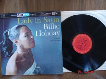 BILLIE HOLIDAY, LP Lady In Satin, Jazz