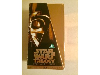 Star Wars Trilogy Special Edition THX goldbox Widescreen DVD box