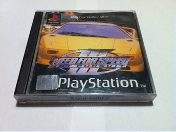 PS1/PSone: Need for Speed III (3) - Hot Pursuit