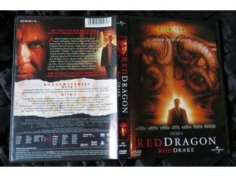 Röd Drake/Red Dragon - 2 disc DVD med Anthony Hopkins som Hannibal Lecter.