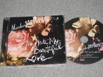 Monkeystrikes - You Hate My Beautiful Love CD