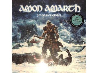 AMON AMARTH-LP-Jomsviking-LTD 500ex Blue Marbled Vinyl+Insert & Poster