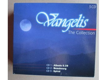 3 CD med Vangelis - The Collection.
