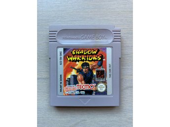 Game Boy GB: Shadow warriors SCN